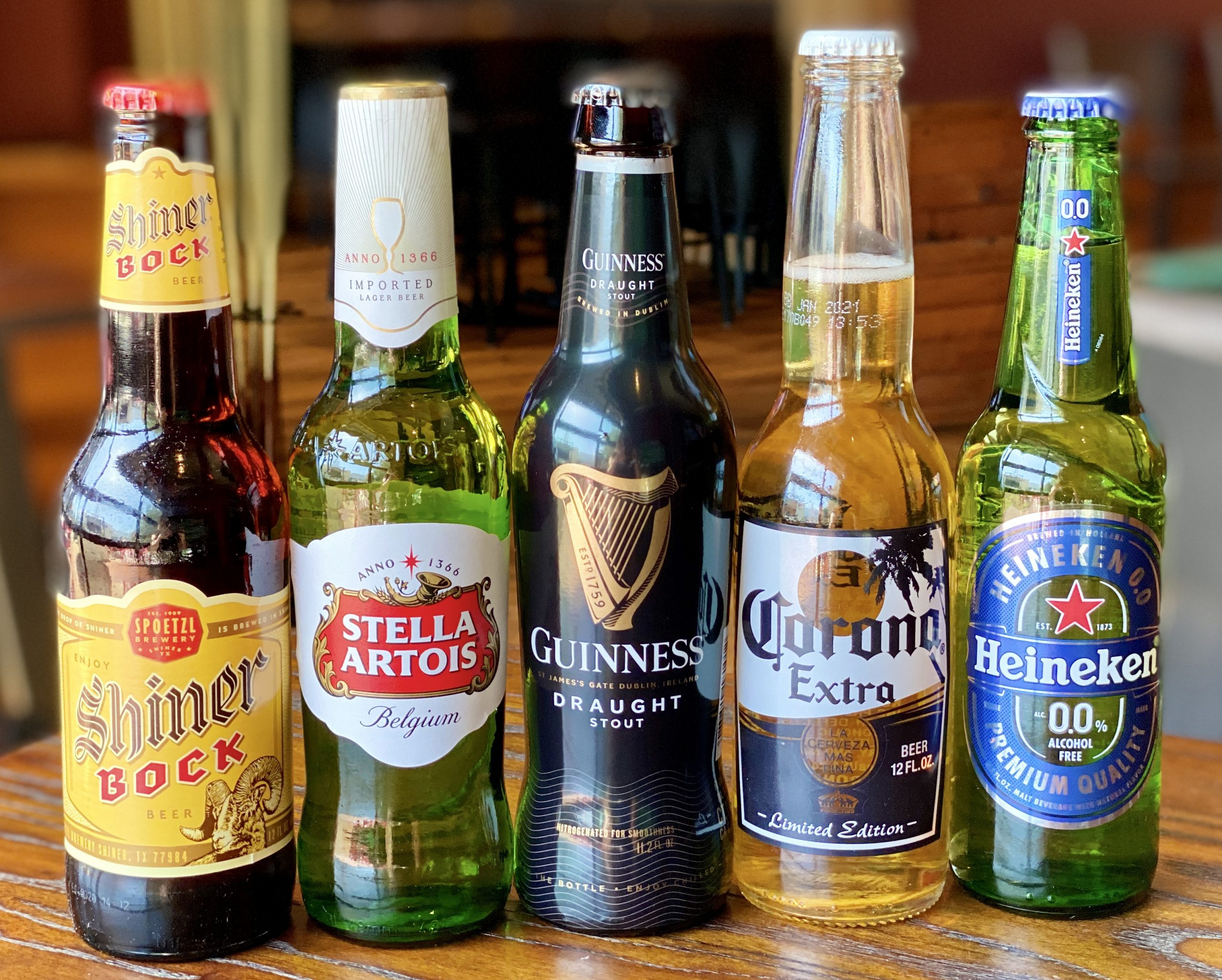 Import Beer Bottles